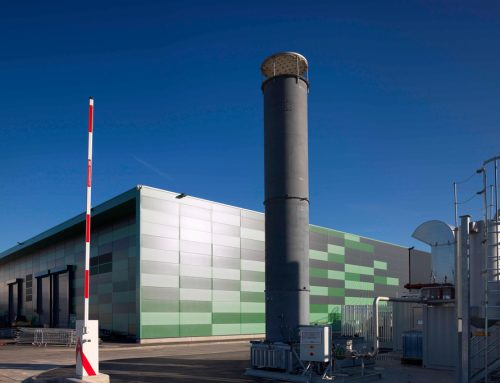 New 1.6 Mega-watt engine at East London Biogas' site