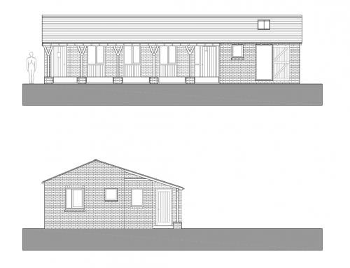Farm office and welfare building in Warrington Green Belt